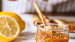Как приготовить необычное лимонное варенье с ванилью