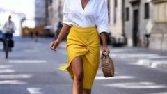Модные юбки сезона лето-осень 2021