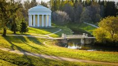 Достопримечательности Санкт-Петербурга: Павловский парк