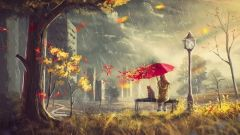 Где искать точку опоры осенью