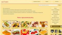 Рецепты от Анастасии Скрипкиной