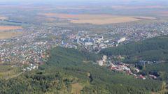 Белокуриха. Вид с горы Церковка.