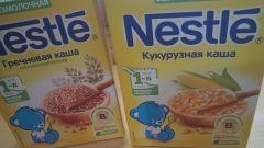 Детские каши Nestle