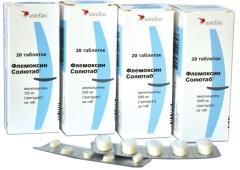 Опыт лечения таблетками флемоксин солютаб