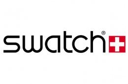 Очень яркие часы swatch