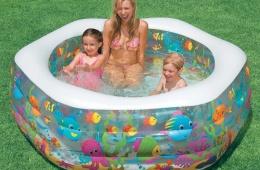 В жару всем надо купаться!