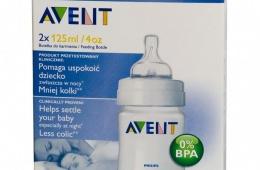 Кормление из бутылочки Avent: просто и безопасно