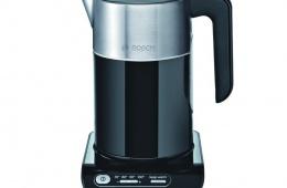 Bosch TWK 8613 может не только кипятить воду, но и доводить ее до определенной температуры