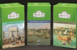 Зеленый чай от бренда AHMAD
