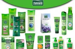 Шампунь «Чистая линия» - природная помощь волосам