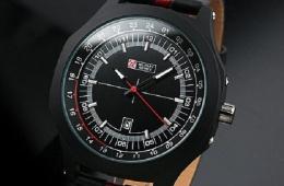 Часы Military Royale Mens Aiator Style – достаточно недорогая, но стильная модель
