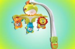 Замечательный детский мобиль от Tiny Love