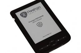 Prestigio PER3464B – модель электронной книги типа E-Ink Pearl