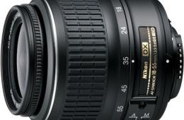 Универсальный китовый объектив Nikon AF-S NIKKOR 18-55mm