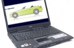 Старый, но надежный ноутбук Acer TravelMate 6592G