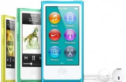 Многофункциональный плейер от Apple - iPod nano 16Gb