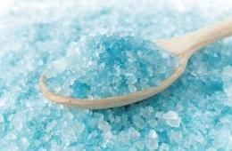 Ароматная красящая соль для ванн ТОН «Морская»