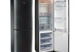Вместительный холодильник с системой антифрост