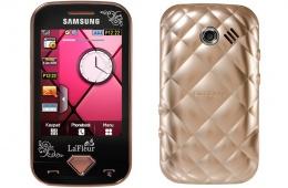 Внешне очень симпатичный девичий телефон Samsung La Fleur