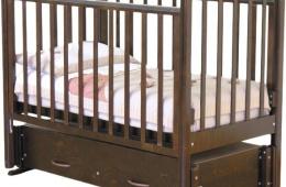 Удобная детская кровать с бортиками