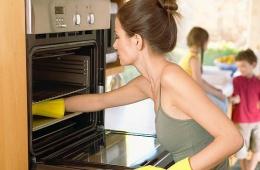 Чистая плита за пять минут