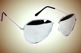 Зеркальные очки Ray Ban