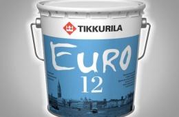 Краска Tikkurila Евро 12