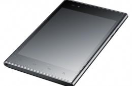 LG Optimus VU – стильный и недорогой смартфон на базе платформы Android 4.0