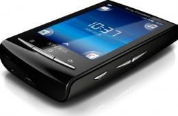 Sony Ericsson Xperia X10 mini – небольшой и компактный смартфон