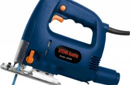 Stern Austria JS80B – удобный и недорогой электролобзик для фигурного выпиливания