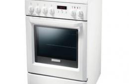 Electrolux EKC 513503 W – электрическая плита на 4 конфорки с очень вместительной духовкой
