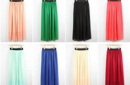 Модная юбка-макси на лето от AliExpress