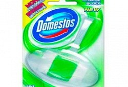 Блок гигиенический для унитаза Domestos «Хвоя» - устранит бактерии и неприятный запах