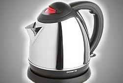 Качественный металлический чайник