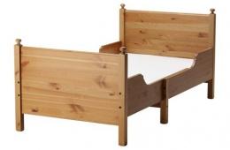 Кровать IKEA ЛЕКСВИК деревянная