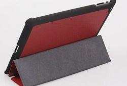 Leather case for iPad 2 3