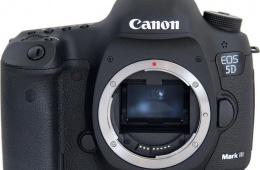 Canon EOS 5D Mark III: лучшее от Canon