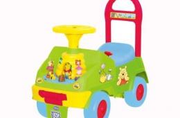 Машина-каталка со сказочными героями
