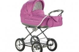 Простая и удобная модель детской коляски