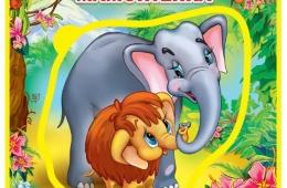 Мягкая книга-пазл для малышей