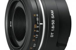 Sony 50mm f/1.8: качественно и недорого