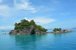 Райские острова неподалеку от материка