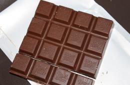 Настоящий зимний шоколад