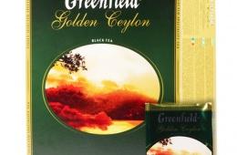 Хороший черный чай Greenfield