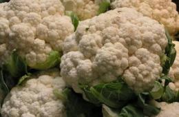 Замороженная цветная капуста Hortex прекрасно подходит для приготовления сытных гарниров