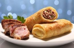 Блинчики с мясом: вкусный завтрак или ужин