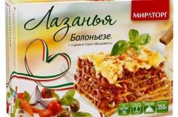Итальянская кухня в русском исполнении