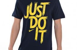 Мотивирующая спортивная футболка Nike