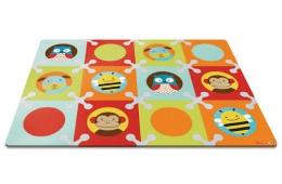 Красивый коврик-пазл в детскую