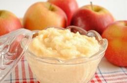 Яблочное пюре для похудения
